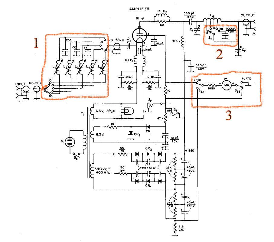 Schematic Of 200 watt amplifier on